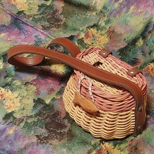 Miniature Decorative Fishing Bait Basket